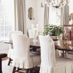 : Dining room chair slipcovers and also fabric chair covers and also roll top dining chair covers and also large chair slipcovers
