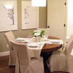 : Dining room chair slipcovers and also removable dining chair seat covers and also round back dining chair slipcovers and also tartan dining chair covers