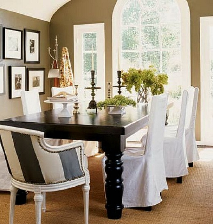 Dining Room Chair Slipcovers And Also Linen Dining Chair Covers And