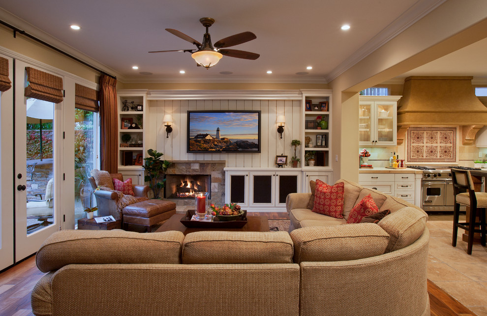 Family Room Ideas with Complete Features