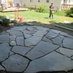 : Flagstone patio you can add flagstone patio design ideas you can add flagstone patio with pergola you can add easy stone patio designs