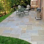 : Flagstone patio you can add flagstone porch and steps you can add interlocking stone patio you can add how to make a stone patio