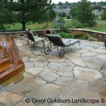 : Flagstone patio you can add sandstone patio ideas you can add best stone patio designs you can add colored patio stones