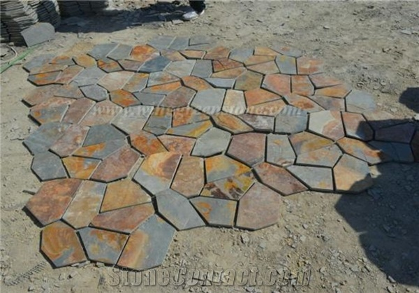Flagstone pavers you can looking flagstone pavers lowes you can looking meshed flagstone pavers you can looking large paving stones patio
