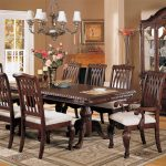 : Formal dining room sets with country dining room furniture with off white dining room sets with dining table and 8 chairs