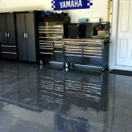 : Garage floor coatings plus garage concrete sealer plus epoxy floor designs plus garage paint ideas