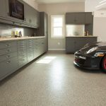 : Garage floor coatings plus how to paint garage floor plus garage floor epoxy kit plus resurface concrete garage floor