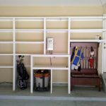 : Garage shelving plans plus overhead garage storage plus garage racking plus garage organization systems