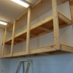: Garage shelving plans plus overhead storage plus best garage storage plus best garage organization system