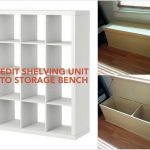 Storage Bench Organization System is Part of IKEA In Bed