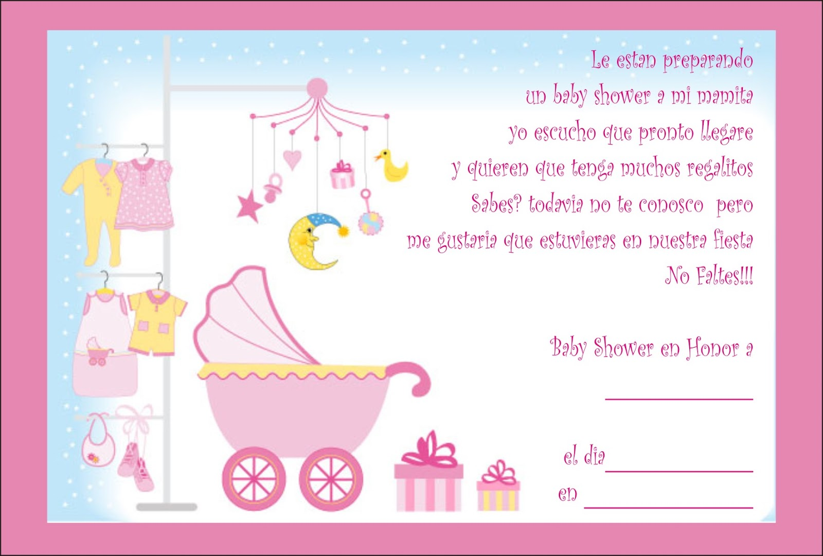 Decoracion Para Fiesta De Baby Shower.Invitaciones Para Baby Shower Also Adornos Para Baby Shower