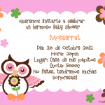 : Invitaciones para baby shower also decoracion de baby shower also ideas para invitaciones de baby shower