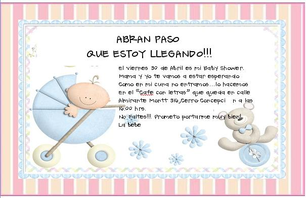 Invitaciones Para Baby Shower Also Adornos Para Baby Shower