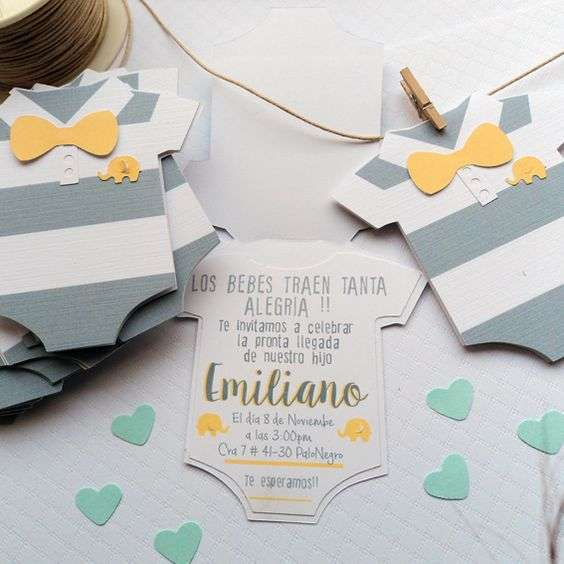 Invitaciones Para Baby Shower Also Fiesta De Baby Shower Para Niño Also Un Baby Shower Invitaciones Para Baby Shower Designs And Decorative Ideas To Check Inspiration Home Magazine