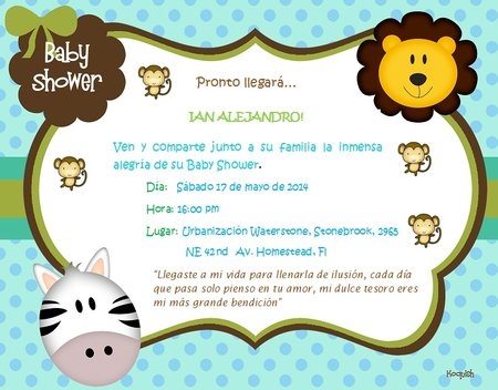Invitaciones Para Baby Shower Designs And Decorative Ideas