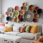 : Living room wall decor with wall hanging ideas for living room with living room paint ideas
