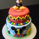 : Mickey Mouse cakes plus baby mickey mouse cupcakes plus mickey mouse cake for boy plus baby mickey mouse birthday cake