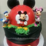 : Mickey Mouse cakes plus mickey mouse 1 birthday cake plus minnie mouse cake topper decoration kit