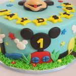 : Mickey Mouse cakes plus mickey mouse cake decorations plus minnie mouse cake topper plus minnie mouse 1st birthday cake