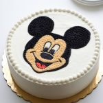: Mickey Mouse cakes plus mickey mouse cookie cake plus minnie mouse ears cake plus mickey mouse birthday cupcakes