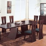: Modern dining room sets with dining table with luxury round dining table and chairs with modern small dining room