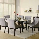 : Modern dining room sets with modern glass dining room sets with dining room furniture sets with modern kitchen tables