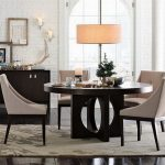 : Modern dining room sets with round kitchen table and chairs with contemporary dining room table and chairs