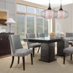 : Modern dining room sets with solid wood dining table with high dining table with modern contemporary dining room furniture