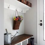 : Mudroom ideas and also entryway storage baskets and also table for mudroom and also entryway coat storage