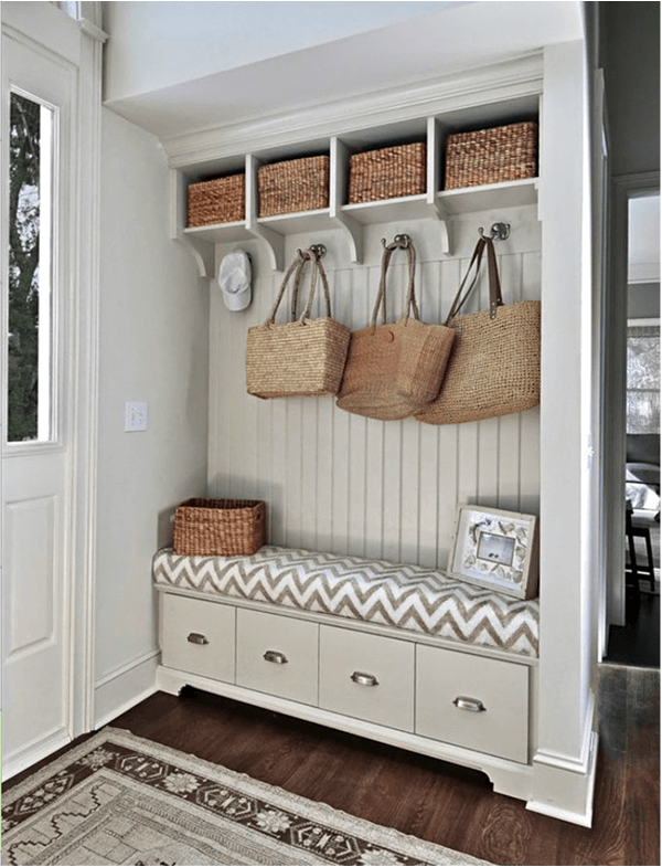 Mudroom ideas and also hallway storage hooks and also entryway storage bench and wall cubbies and also how to build mudroom cubbies