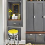 : Mudroom ideas and also mudroom lockers with doors and also entryway cubbies lockers and also rustic mudroom bench