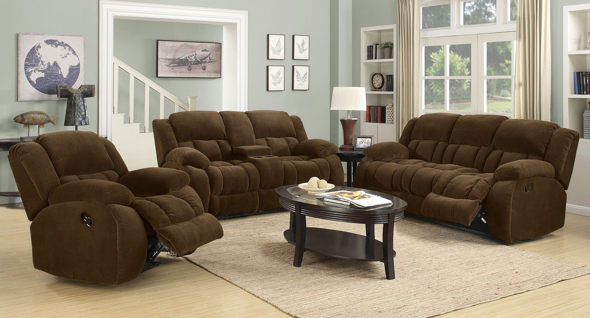 Reclining Living Room Sets and plus large leather sectional with chaise and plus matching living room furniture and plus oversized living room furniture