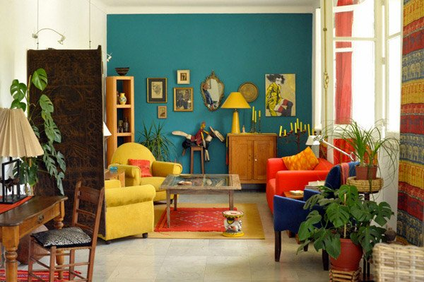 Retro Living Room And Plus Dining Ideas Modern Style Furniture
