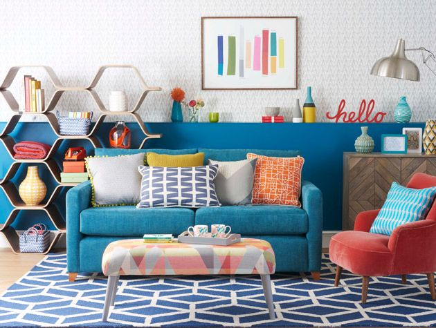 Retro Living Room and plus living room styles and plus living room paint colors and plus retro sitting room