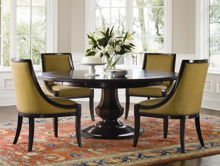Round dining room tables with 72 round dining table with dining table and chairs sale with dining room table with leaf