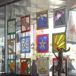 : Stained glass window hangings also add catholic stained glass windows also add faux stained glass panels also add christmas stained glass patterns