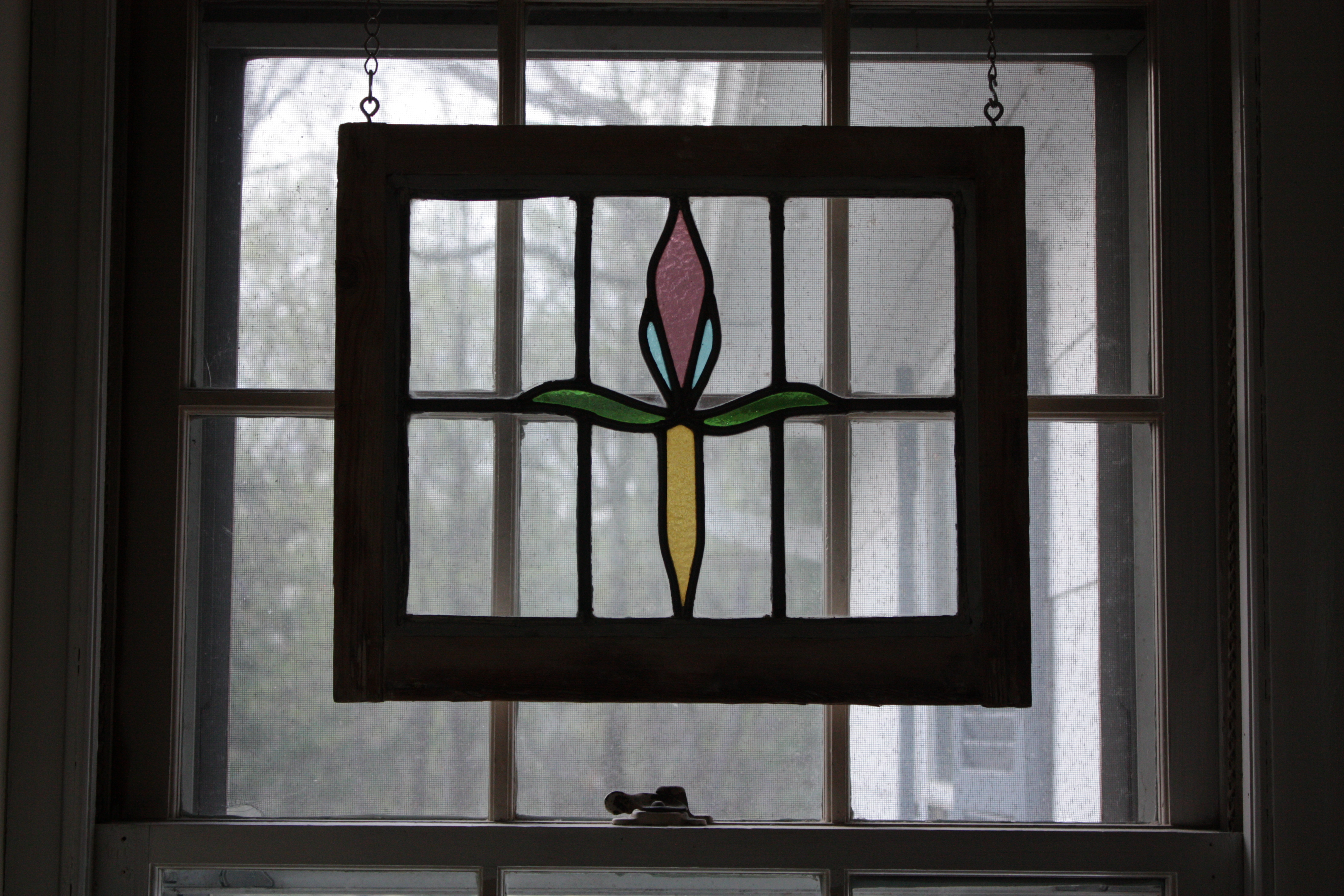 Stained glass window hangings also add glass wall art panels also add vintage stained glass also