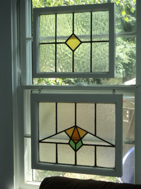 Stained Gl Window Hangings Also Add