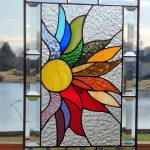 : Stained glass window hangings also add window art panels also add pre cut stained glass kits also add semi circle stained glass windows