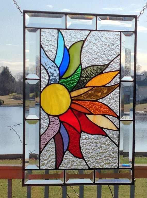 How to make Stained Glass Windows Mosaic is Hanging