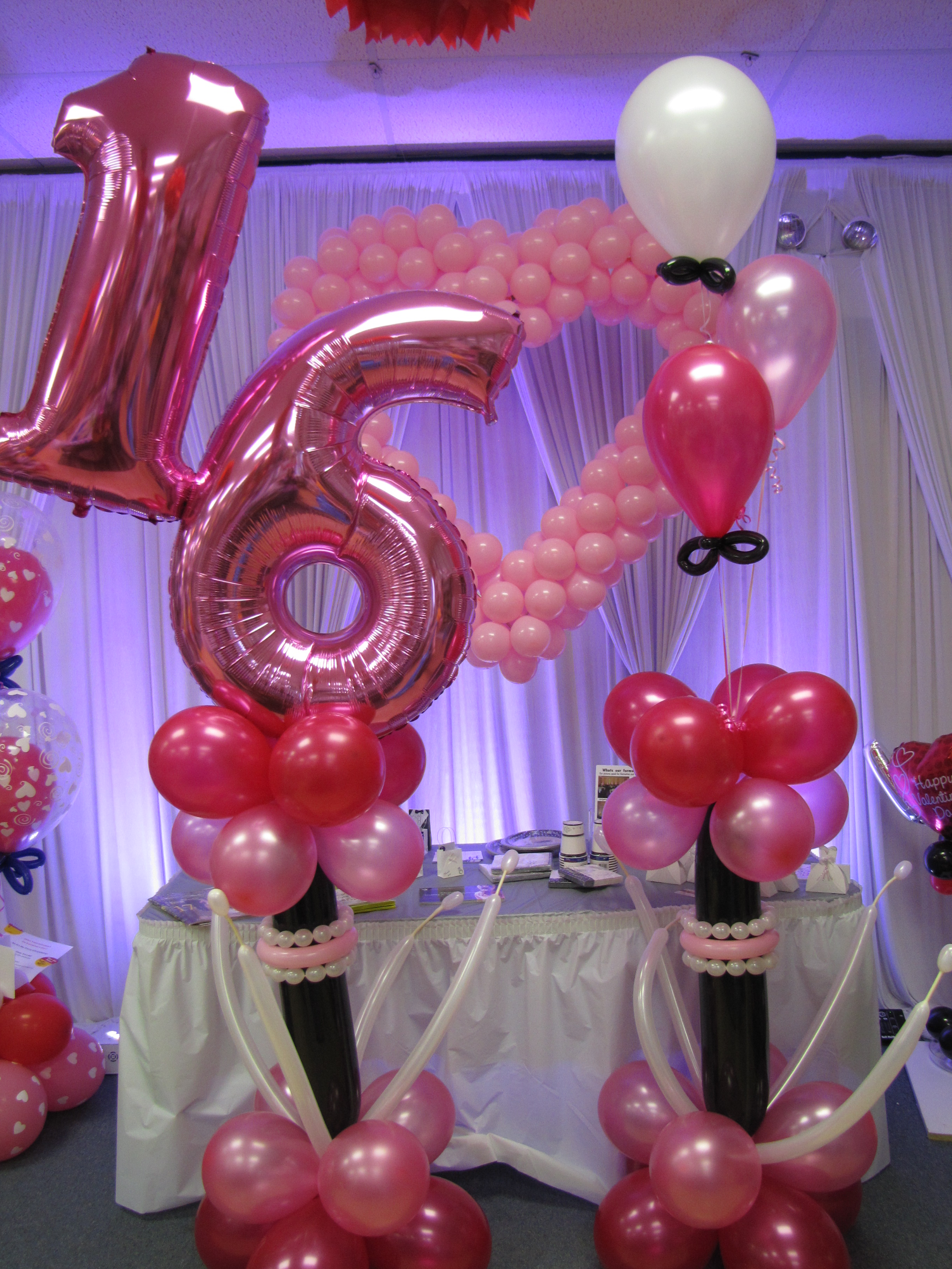 Sweet Sixteen Decorations And Also 16 Party Goods 16th Birthday Accessories