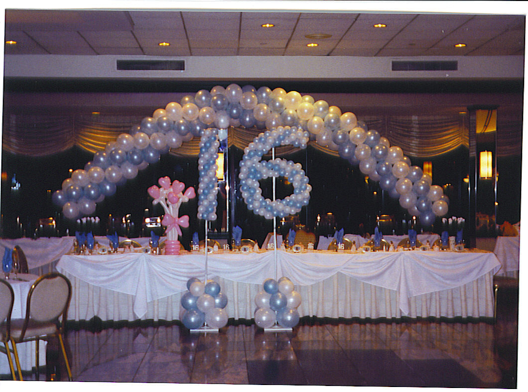 Sweet Sixteen Decorations And Also 16 Party Goods