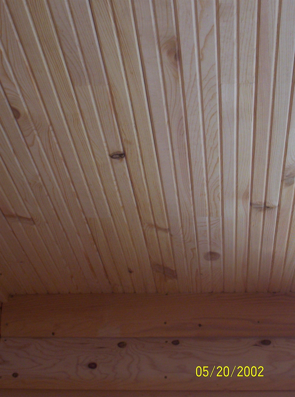 Tongue and Groove Pine Designs to Complete the Appealing Rustic Feel