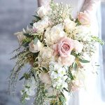 : Weddings bouquet plus wedding bouquet designs plus tropical wedding flowers plus cheap bridesmaid flower bouquets