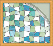Window Film Stained Glass with glass coverings for privacy with window tint that looks like stained glass with stick on film to obscure glass