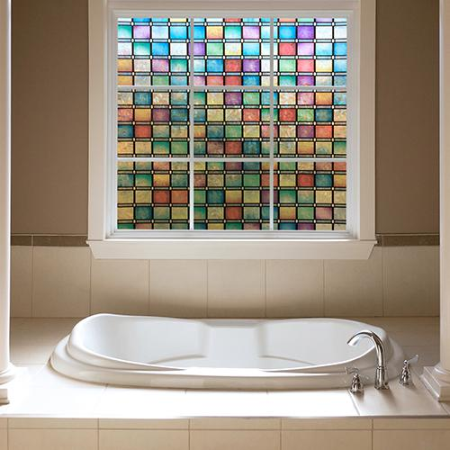 Window Film Stained Glass with house window tinting with vinyl stained glass window film with glass door privacy film