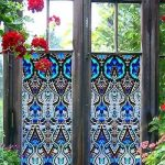 : Window Film Stained Glass with leaded window film with removable window film with where to buy stained glass window film