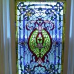 : Window Film Stained Glass with perforated window film with privacy glass film for bathroom window with window coverings stained glass look
