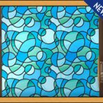 : Window Film Stained Glass with stained glass vinyl with home window privacy film with residential window film