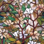: Window Film Stained Glass with stained glass window adhesive with cheap stained glass window film with stick on window tint for homes